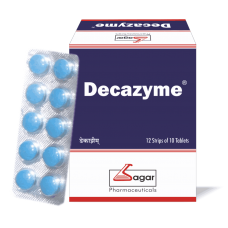 Decazyme 10 Tablets Sagar for Powerful digestive