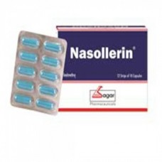 Nasollerin 10 Capsules Sagar for Builds immunity and  respiratory congestion