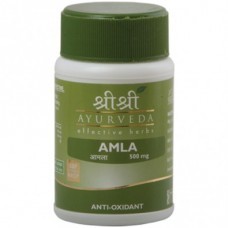 Amla 60 Tablet Sri Sri Ayurveda for anti-oxidant and Vitamin C