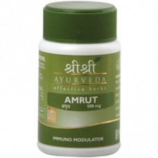 Amrut 60 Tablets Sri Sri Ayurveda for mainly fever