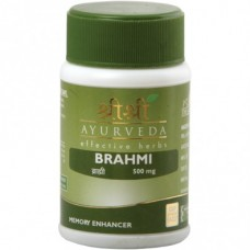 Brahmi 60 Tablets Sri Sri Ayurveda