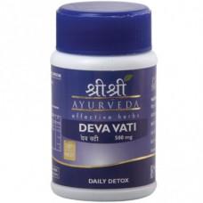 Deva Vati 60 Tablets Sri Sri Ayurveda