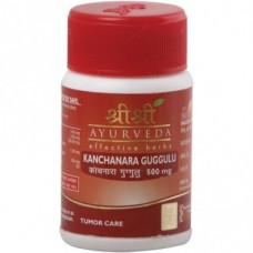 Kanchanara Guggulu 30 Tablets Sri Sri Ayurveda