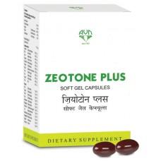 Zeotone Plus Soft Gel 10 Capsules AVN Ayurveda
