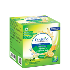 Diabliss Herbal Lemon Tea 100g Diabliss Low Glycemic Index Foods