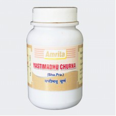 Yashtimadhu Churna 100gm Amrita Drugs