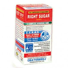 Right Sugar 120 Tablets Chaturbhuj Pharmaceutical