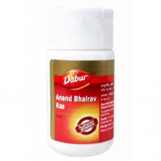 Anand Bhairava Ras Jwar 40 Tablet Dabur