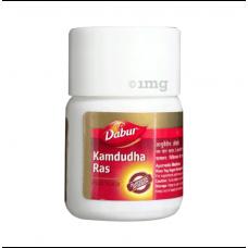 Kamdudha Ras (Moti Yukta) 20 Tablet Dabur