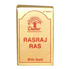 Rasraj Ras (Gold) 10 Tablet Dabur