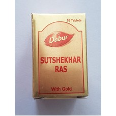 Sutshekhar Ras (Gold ) 10 Tablet Dabur