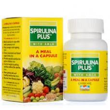 Spirulina Plus With Amla 60 Capsules Goodcare