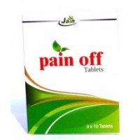 Pain Off 10 Tablets Jain Ayurvedic Pharmacy