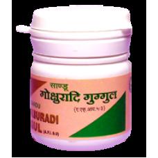 Gokshuradi Guggul 25 Tablet Sandu Pharmaceuticals