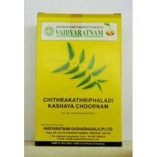 Chitrakathriphaladi Kashayam Churnam 100gm Vaidyaratnam