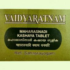 Maharasnadi Kashayam Gulika 100 Tablets Vaidyaratnam