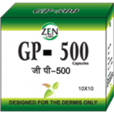 Gp-500 10 Capsules Zen Labs