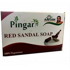 Pingara Sandal Soap 70gm Aayush Santosh Guruji