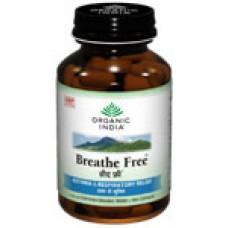Breathe Free 60 Capsules Organic India