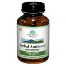 Herbal Antibiotic 60 Capsules Organic India