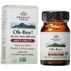 Oh - Boy 30 Capsules Organic India