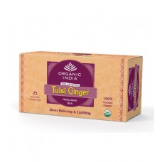 Tulasi Ginger 25 Tea Bags Organic India