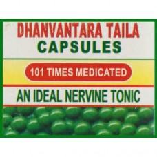 Dhanwantari Taila 100 Capsules DS Swadeshi Pharmaceuticals