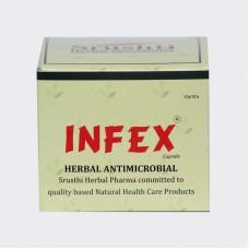 Infex 10 Capsules Srushti Herbal Pharma