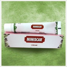 Miniscar Cream 30g Charak for reducing scarring and scar tissues