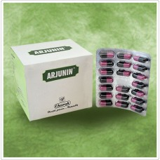 Arjunin 20 Capsules Charak for strengthens the cardiac muscles.