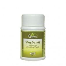 Chousashta Pippali Churna 10g Shree Dhootapapeshwar