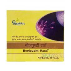 Beejpushti Rasa 30 Tablets Shree Dhootapapeshwar