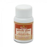 Khadiradi Bati 25 Tablet Shree Dhootapapeshwar