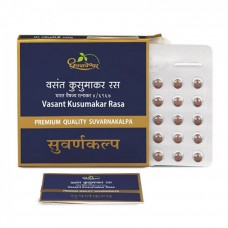 Vasant Kusumakar Rasa Premium 30 Tablets Shree Dhootapapeshwar
